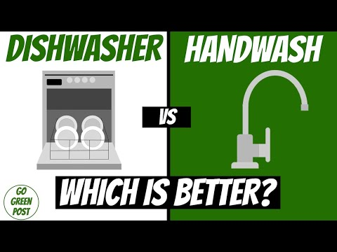 Dishwasher vs Hand Washing | Which Uses Less Water & Energy?