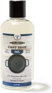 Cast Iron Seasoning Oil (12 ounces) by CLARK'S