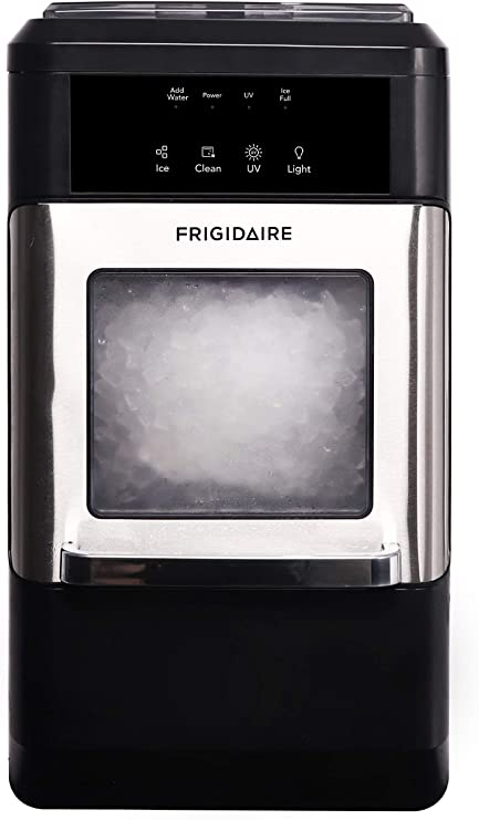 FRIGIDAIRE EFIC235-AMZ Countertop Crunchy Chewable Nugget Ice Maker Review