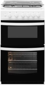 Indesit ID5G00KMWL 50cm Double Cavity Gas Cooker