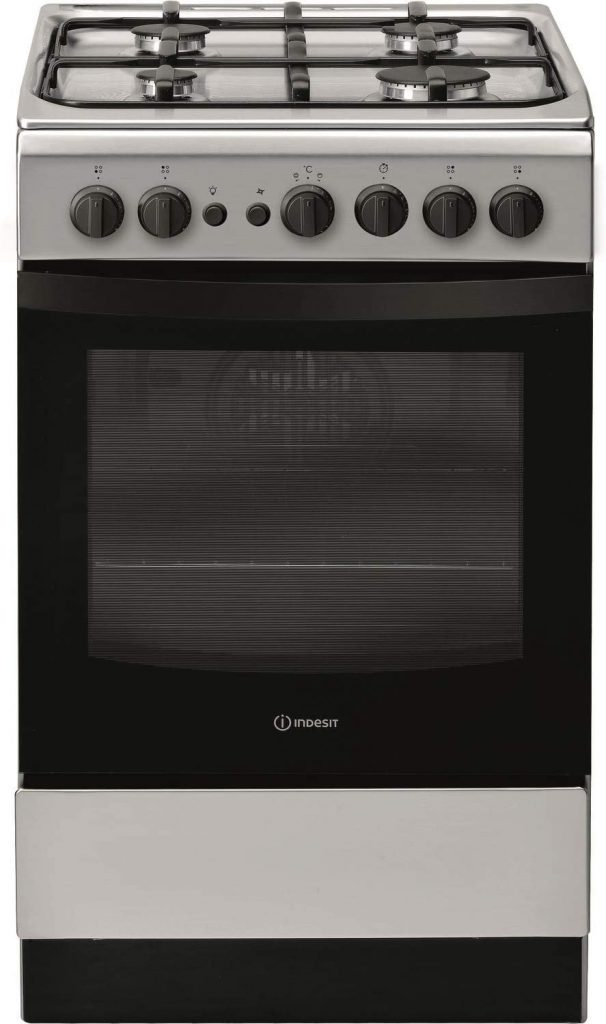 Indesit IS5G1PMSS 50cm Single Oven Gas Cooker