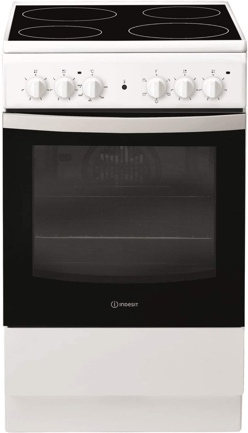 Indesit IS5V4KHW 50cm Single Oven Electric Cooker
