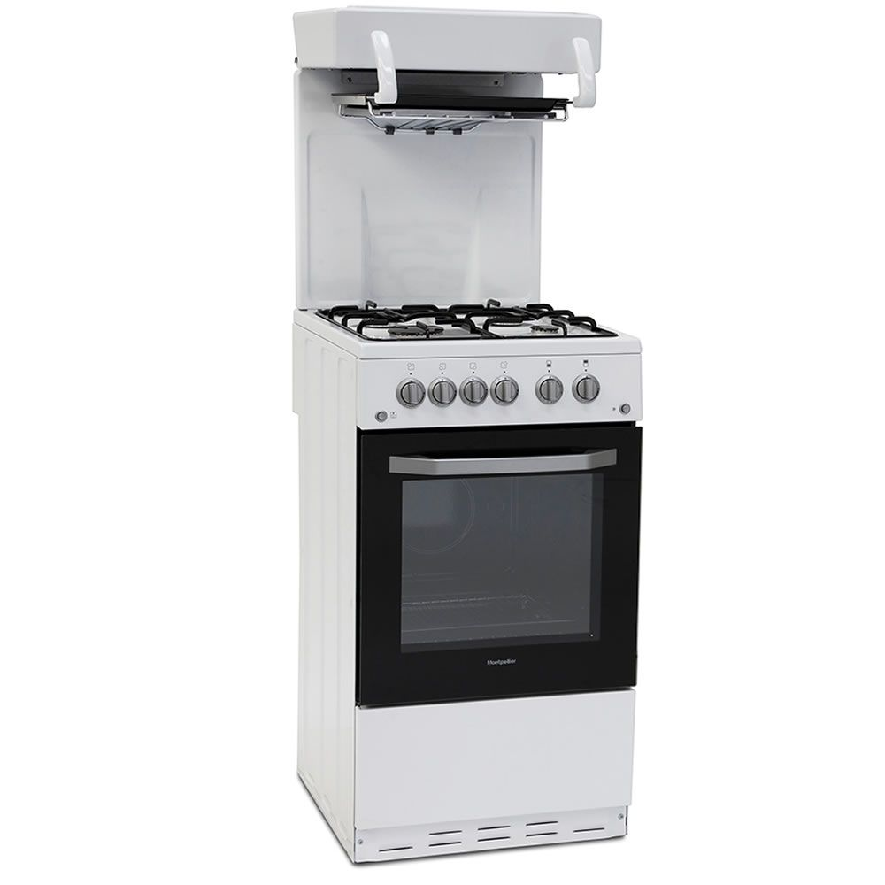Montpellier MEL50W 50cm Single Oven Gas Cooker