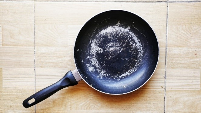 When should you change your non-stick cookware