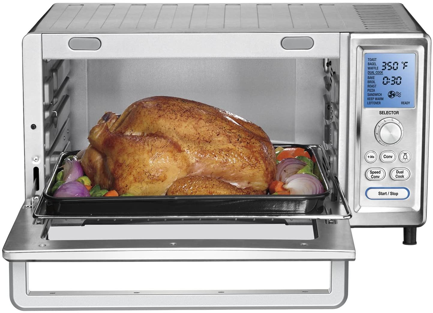 baking chicken in toaster oven
