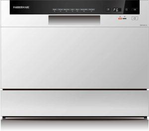 Farberware Professional Compact Portable Countertop Dishwasher White