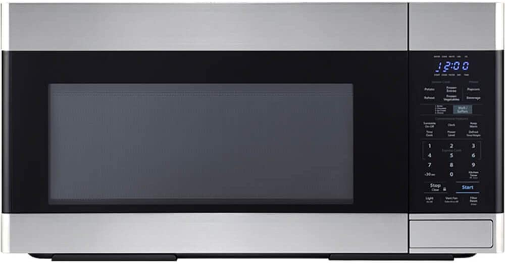 Sharp SMO1854DS Over the Range Microwave Oven Review