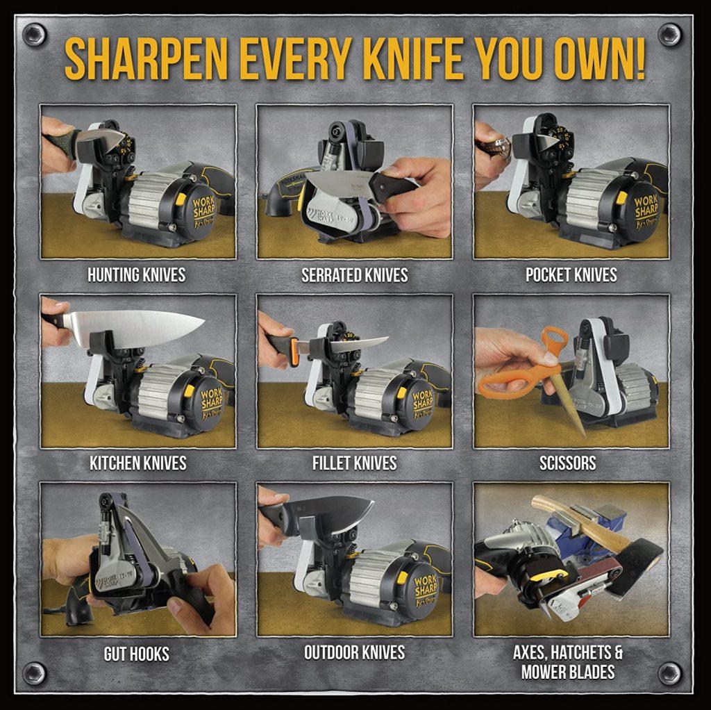 Work Sharp Knife features