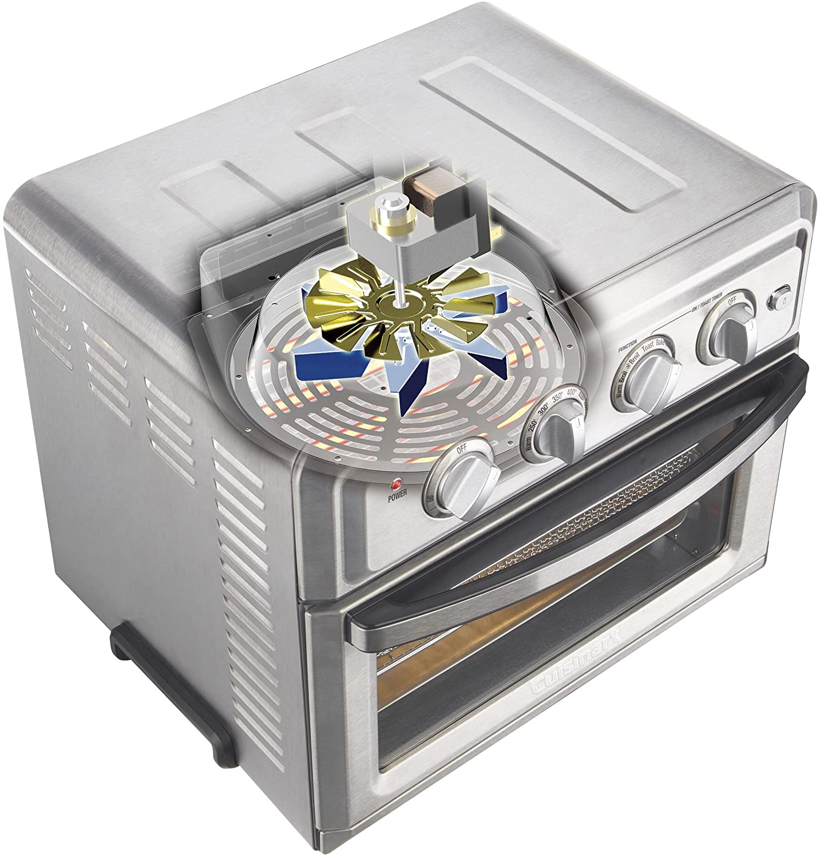 cuisinart toa 60 upper view