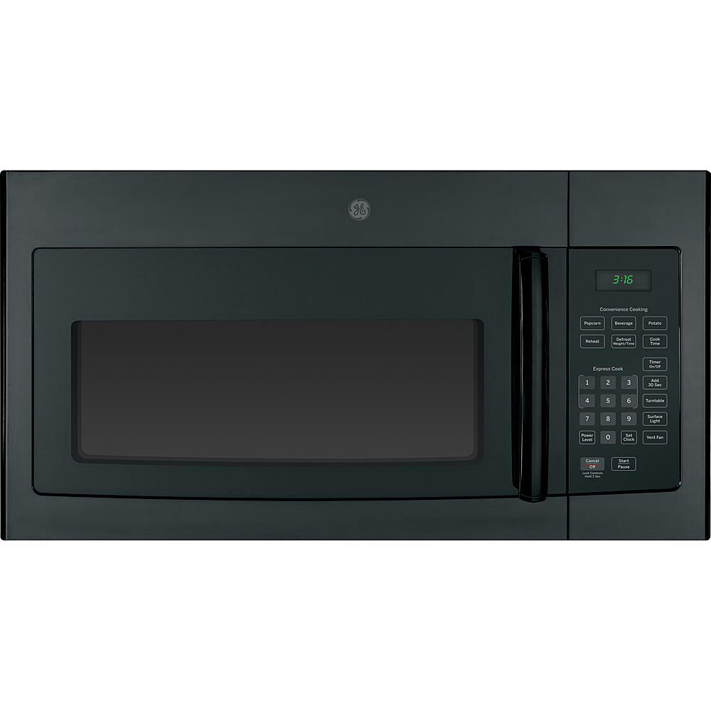 GE Appliances JVM3160RFSS 1.6 cu. ft. Over-the-Range Microwave Oven - Stainless Steel Balck Colour